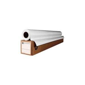 Rollo papel blanco intenso de 90g/m2 24   HP. 610 mm x 45,7 m