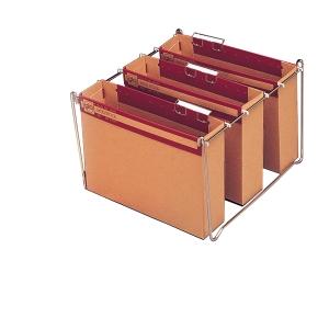 Pack 10 carpetas colgantes visión superior gran capacidad  foliogIO-STOCK