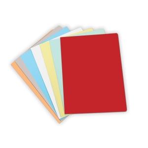 Pack de 50 subcarpetas  formato folio  cartulina naranja pastel 180g2