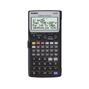 Calculadora programable CASIO FX5800P con pantalla de matriz