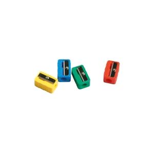 Afilalápiz de plástico en colores surtidos