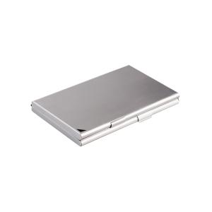 Durable 243323 Business Card Box, aluminium