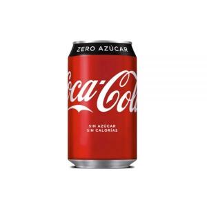 Pack de 24 latas de COCA-COLA Zero de 33 cl