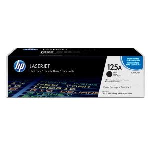 Tóner láser HP 125A negro CB540A para LaserJet Color CP1215/1515 y CM1312