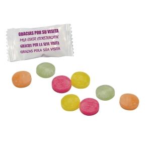 Bolsa de 1 Kg de caramelos   Gracias por su visita   de sabores surtidos