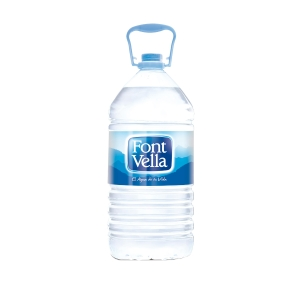 Pack de 3 garrafas de agua Font Vella - 6,25 L