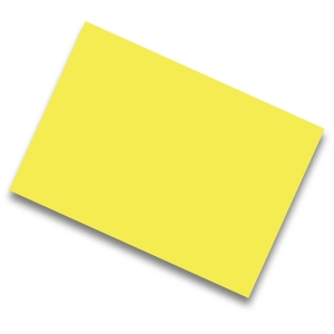 Pack de 25 cartulinas de  50x65 185g/m2  IRIS de color amarillo