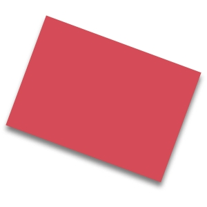 Pack de 25 cartulinas de  50x65 185g/m2  IRIS de color rojo