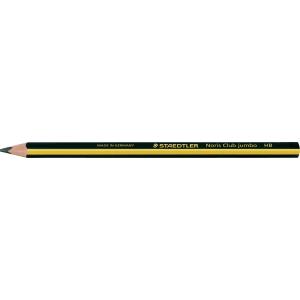 Pack 12 lápices STAEDTLER triangular jumbo noris club 119