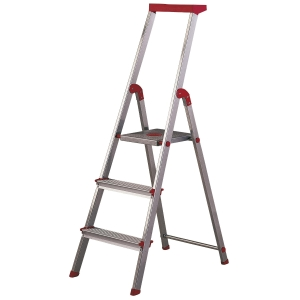 Escalera de aluminio de 3 peldaños ROLSER