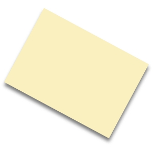 Pack de 50 cartulinas IRIS de 185 g/m2 A4 color crema