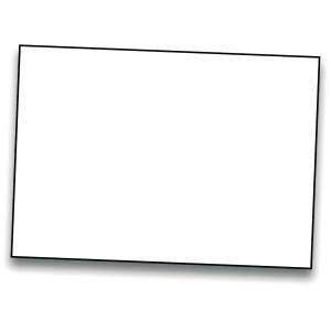 Pack de 50 cartulinas IRIS de 185 g/m2 A4 color blanco