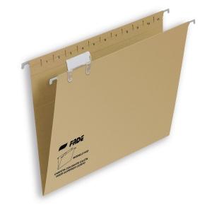 Pack de 25 carpetas colgantes visión superior  folio prolongado  FADE Kiofade