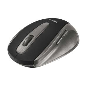 Ratón óptico inalámbrico TRUST EasyClick color negro
