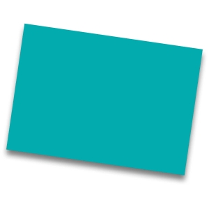 Pack de 25 cartulinas IRIS de  50x65 185g/m2 cm color turquesa
