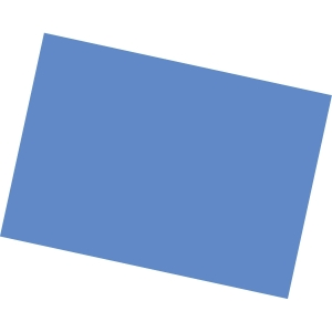 Paquete de 50 cartulinas Iris - A3 - 185 g/m2 - azul marino