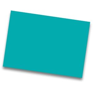 Pack de 50 cartulinas IRIS de 185 g/m2 A4 color turquesa