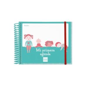 Agenda infantil CABERO espiral día pagina 160 x 130 mm castellano