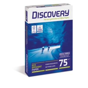Paquete de 500 hojas de papel Discovery FSC A3 75gr