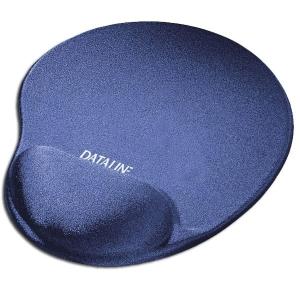 Tapete con reposamuñecas para ratón DATALINE de licra azul
