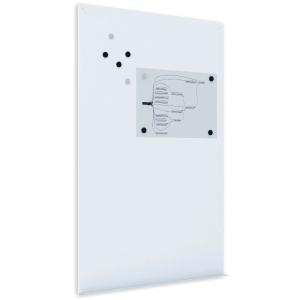 Pizarra magnética ROCADA SkinBoard 1480X980 mm color blanco