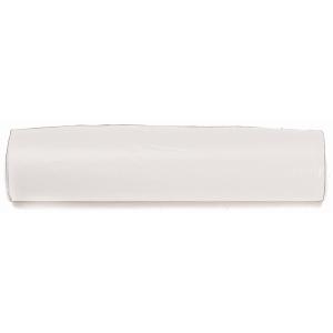 Rollo de 25 bolsas de basura de 10 litros 450x470mm color blanco