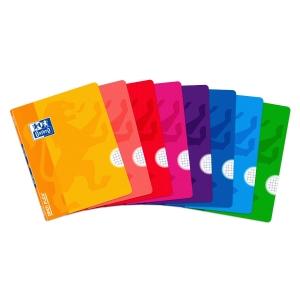 Cuaderno OXFORD openflex con 48 hojas a4 4x4 polipropileno en colores surtidos