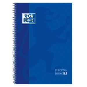 Cuaderno OXFORD con 80 hojas A4+ 5x5 azul