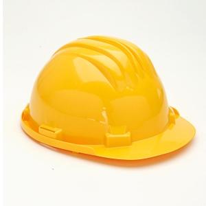 Casco de seguridad con brida CLIMAX 5RS amarillo no ventilado