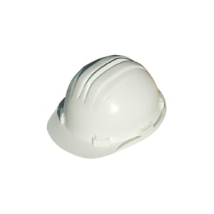Casco de seguridad con brida CLIMAX 5RS blanco no ventilado