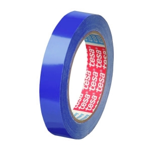 Cinta adhesiva TESA PVC 4204 12mmx66m azul