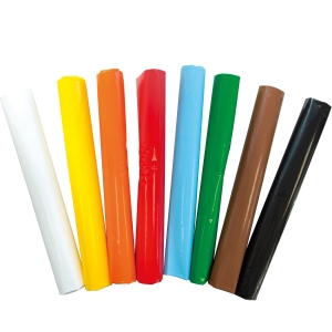 Pack de 25 bolsas de plástico para disfraz 90x65 color blanco