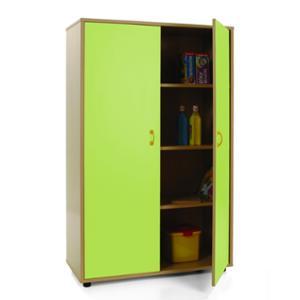 Mueble medio armario MOBEDUC puertas verdes