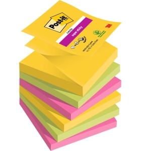 Pack 6 blocks notas adhesivas Post-it Super Sticky Z-notes río de Janeiro 76x76