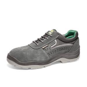 Zapatos de seguridad OFMA Onix S1P serraje color gris talla 41