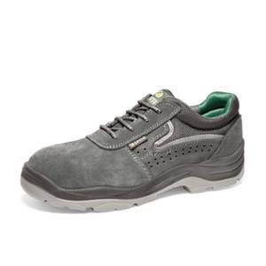 Zapatos de seguridad OFMA Onix S1P serraje color gris talla 44