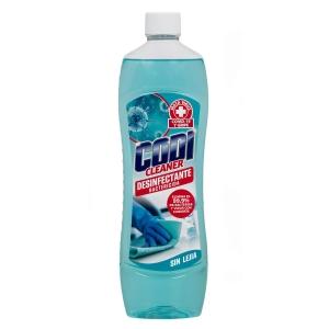 Limpiador desinfectante sin lejía CODI CLEANER de 1 litro