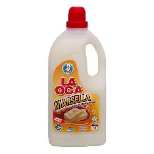 Detergente líquido para lavadora LA OCA con jabón de Marsella de 3 litros