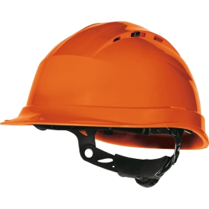 Casco de seguridad DELTAPLUS Quartz Up III naranja no ventilado
