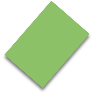 Pack de 50 cartulinas FABRISA A4 170g/m2 color verde