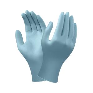 Caja de 100 guantes desechables ANSELL TouchNTuff 92-670 de nitrilo. Talla 7