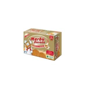 Caja de galletas MARBU Dorada 400g