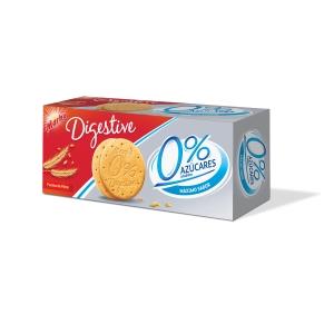 Caja de 400 g de galletas MARBU Digestive 0% azúcares