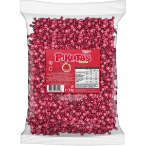 Bolsa de 2 kg de caramelos PIKOTAS sabor cereza