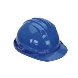 Casco de seguridad con brida CLIMAX 5RS azul no ventilado