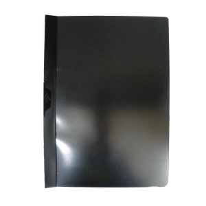 Dossier pinza lateral polipropileno A4 60 hojas negro LYRECO