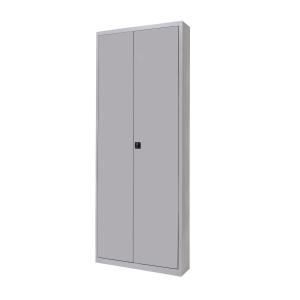 Armario metálico ROCADA puertas batientes gris dimensiones 1980x1020x450 mm