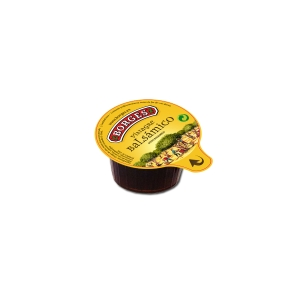 Pack de 168 monodosis de vinagre balsámico de Módena en terrinas de 7 ml