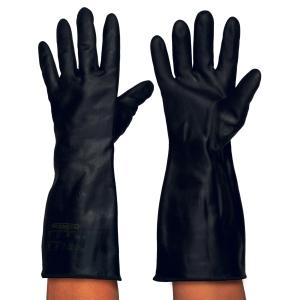 Par de guantes RUBBEREX Hi & Lo NKT 41 resistentes al calor. Talla 9