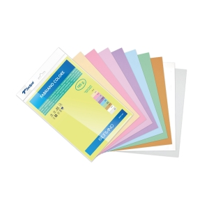 Pack de 10 cartulina SADIPAL SIRIO A3 170g/m2 colores surtidos